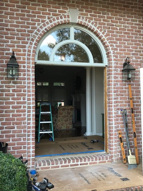 Custom door unit replacement before